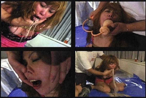 女強制嘔吐6