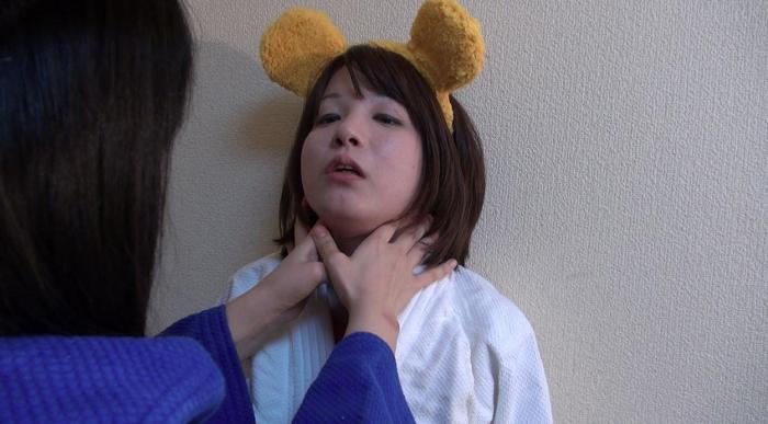 女子柔道絞め技失神16