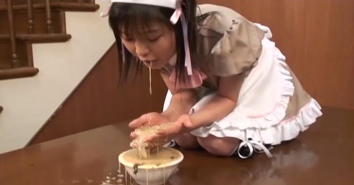 ロリ女ゲロ嘔吐5
