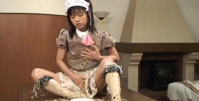 ロリ女ゲロ嘔吐11