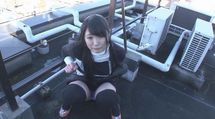 美少女腹パンチ5