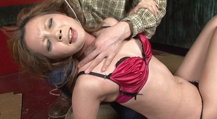 ギャル首絞め14