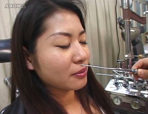 耳鼻咽喉科の診察盗撮28