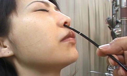 耳鼻咽喉科の診察盗撮7
