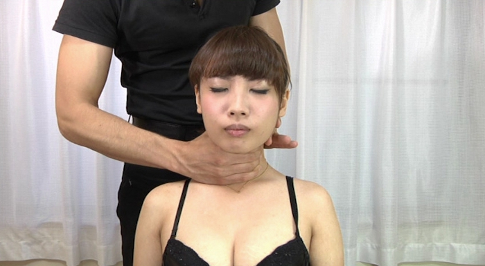 美少女の首を絞める3