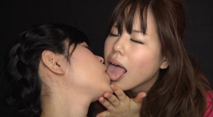 鼻舐めレズビアン-Nose Licking lesbian-29