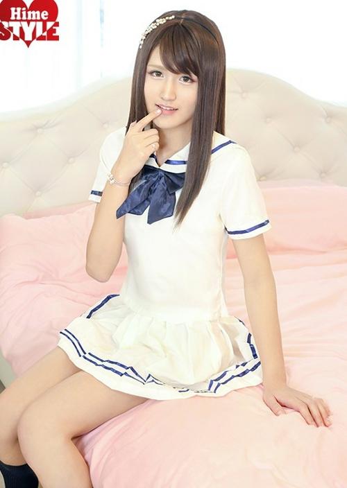 超絶かわいいオトコの娘アイドル 中山美月19才 AVデビュー8