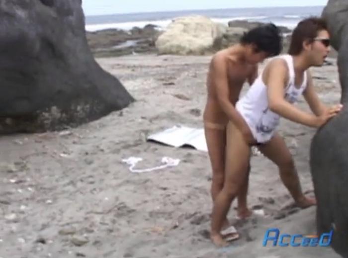 実録!!男が集う秘密の発展海岸へ潜入…。6