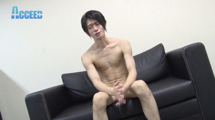 P17ホスト系男子『刃』くん、初撮影で男にイカされる!!14