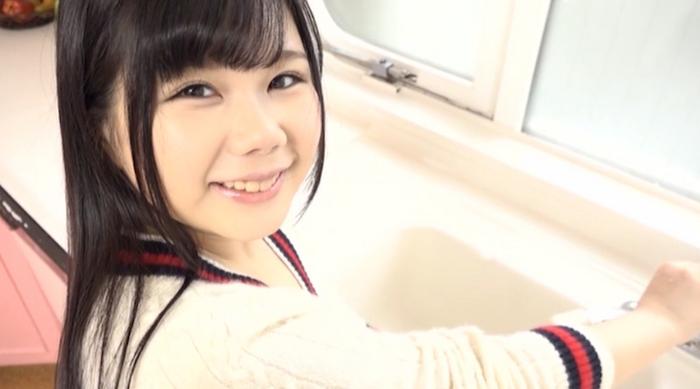 黒髪乙女 巨乳美少女! まだまだ発育中のFカップ 大澤ゆうり11
