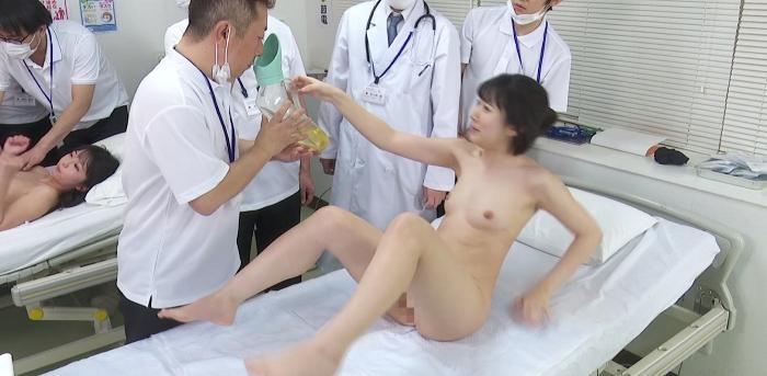 羞恥 生徒同士が男女とも全裸献体になって実技指導を行う質の高い授業を実践する看護学校実習2019.70