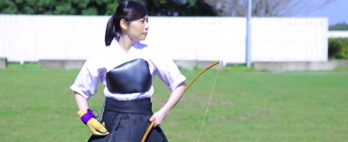 弓道女子 一色美桜1