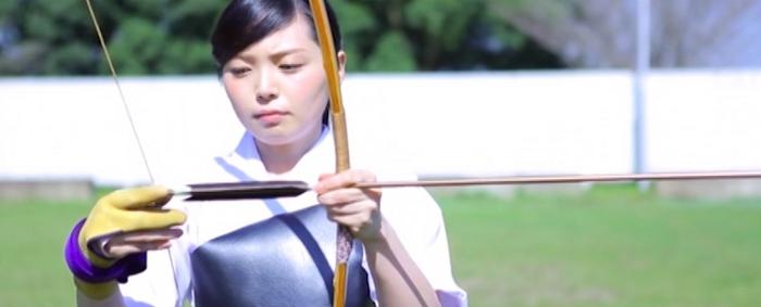 弓道女子 一色美桜2