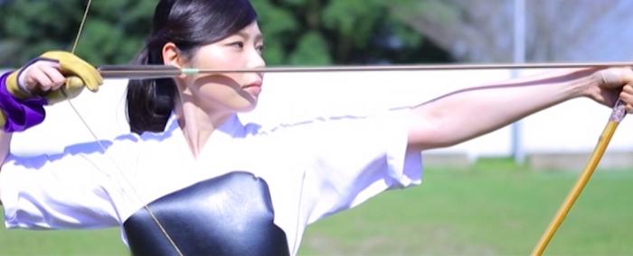 弓道女子 一色美桜3