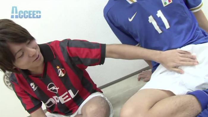 Costume×ATHLETE ver. II~サッカー部の仲良し同士、エロ本見ながら一緒にオナニーからエッチにハッテン!!~2