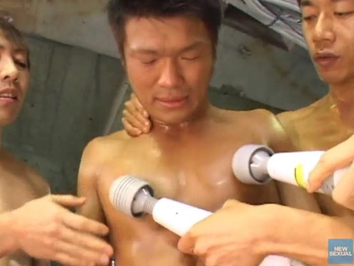 調教 野郎ボクシングジム「身体検査/アナルトレーニング」22