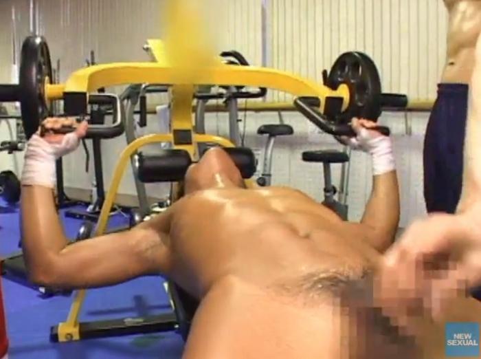 調教 野郎ボクシングジム「身体検査/アナルトレーニング」25