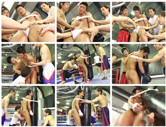調教 野郎ボクシングジム「人間サンドバック/精子プロテイン」48