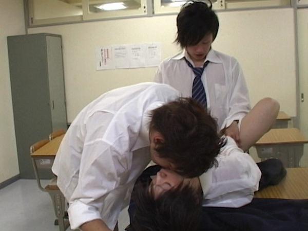 禁断の学園性活 -ジャニ系生徒2人とイケメン先生との3P-31
