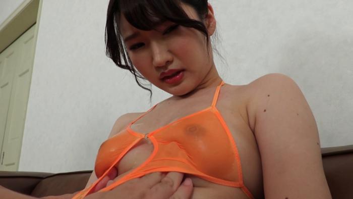 港区で見つけた会員制ラウンジ女子着エロデビュー!/長濱紗里25