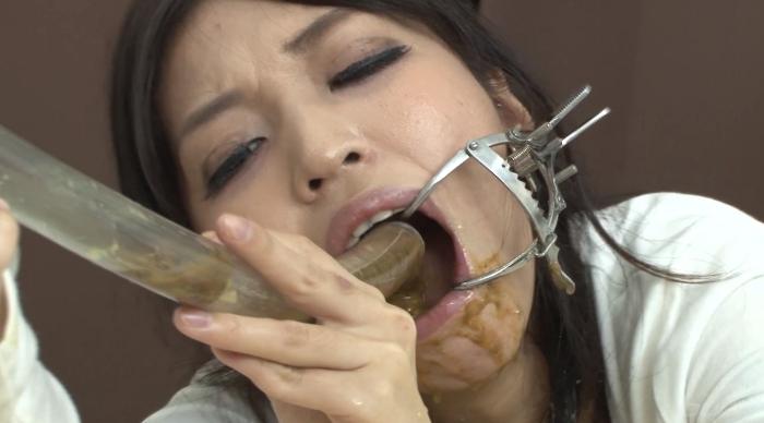 スカトロパイプ連結アナルからお口へ脱糞! 後藤結愛×涼宮凜8