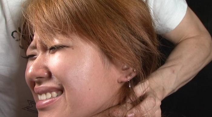 絞め動脈の連鎖に顔面と蒼白11