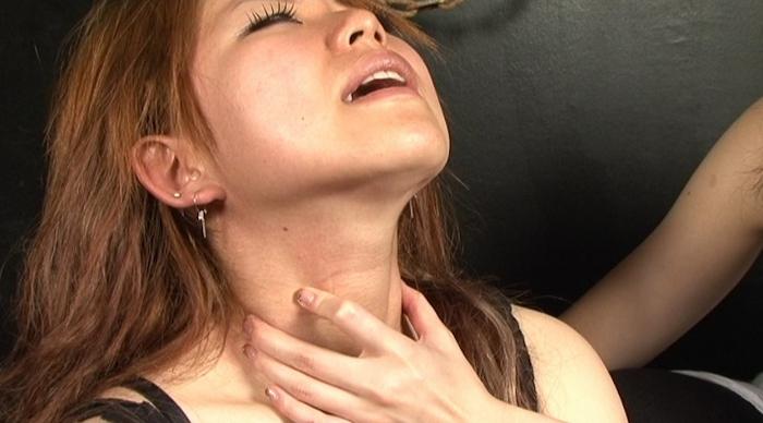 絞め動脈の連鎖に顔面と蒼白3