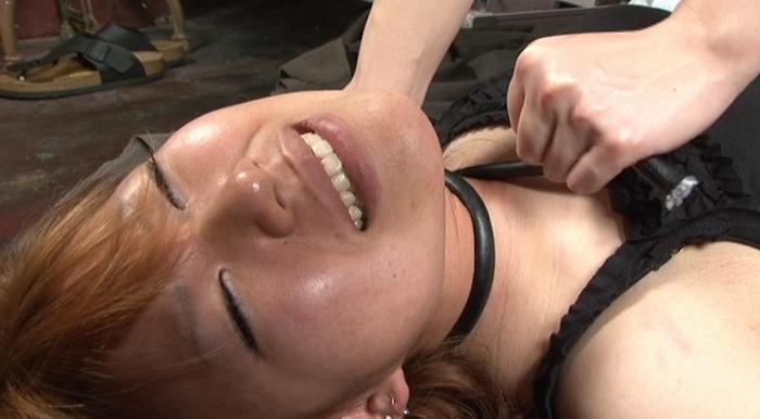 絞め動脈の連鎖に顔面と蒼白6
