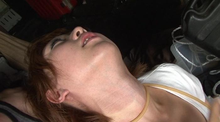 膨張に呻き血管と窒息の嘆き25