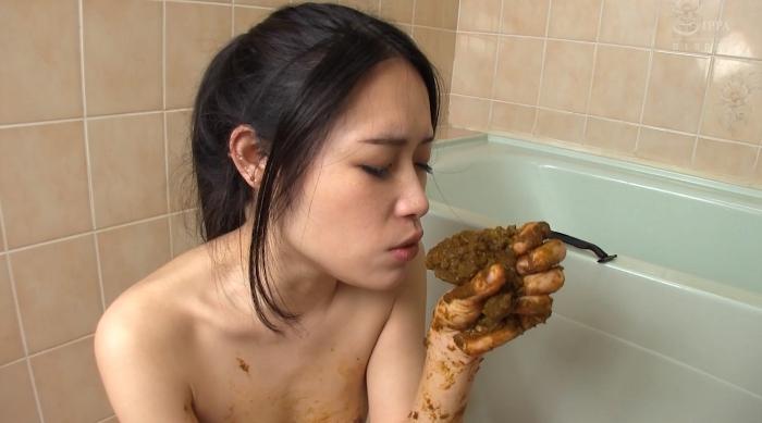 アパート暮らしの大便塗り喰いゲロまんずり女25