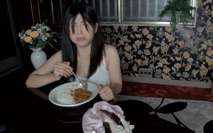 自画撮りうんこカレー食糞ビデオ2,10