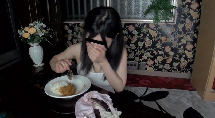 自画撮りうんこカレー食糞ビデオ2,11