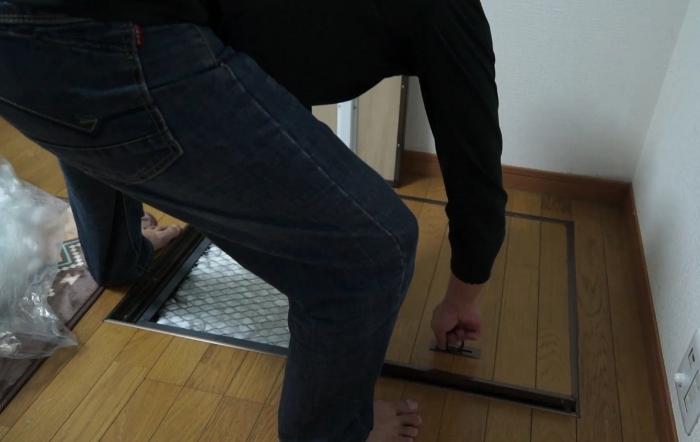 床下収納庫に圧縮放置!?8